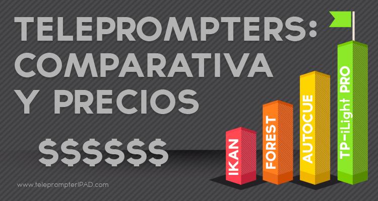 teleprompter-comparativa-precios