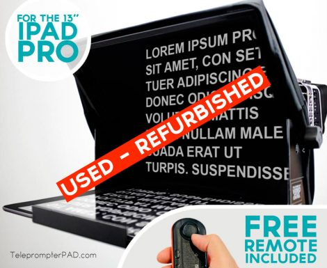 [used-refurbished]-TeleprompterPAD iLight PRO 13 inches